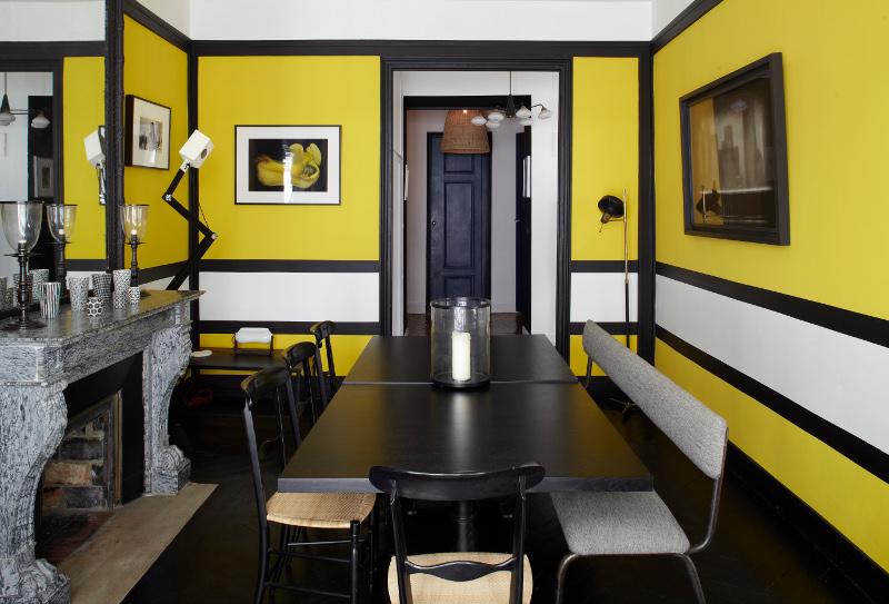 Salon Noir Et Blanc Quel Rideau